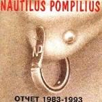 57 фактов об альбоме «Отчёт 1983-1993» группы «Наутилус Помпилиус»