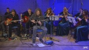 Группа «Серьга» сыграла концерт с оркестром «Глобалис» (видео)