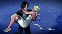 серьга клип ромео и джульетта
