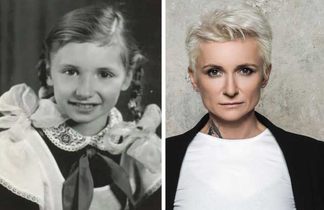 диана арбенина в детстве и сейчас